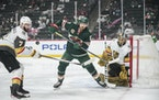 The winner of Game 7 between the Wild and Golden Knights will advance to the second round and face the Avalanche.