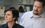 """Tig Notaro and Noah Harpster in """"One Mississippi."""""""