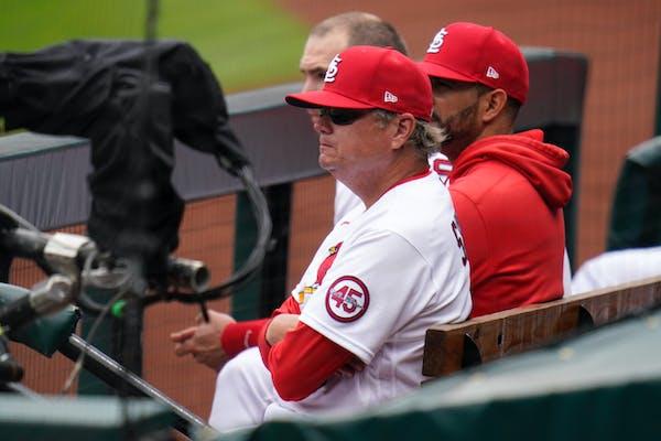 St. Louis Cardinals manager Mike Shildt