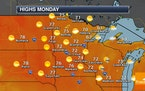 Quiet Weather For Memorial Day - Highs Near 90F Late This Week