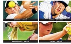 (Clockwise, from top left) Boys' tennis, baseball, softball and girls' and boys' golf state tournament will be held in the next three weeks.