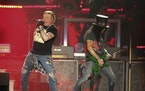 Axl Rose and Slash performed at the Austin City Limits Festival in 2019.