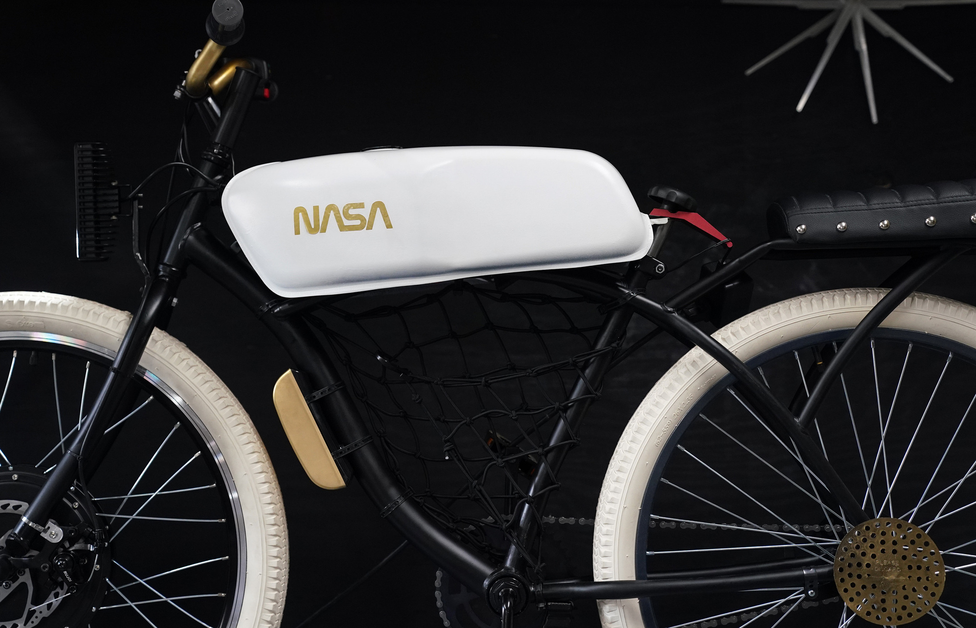 Detail of the NASA bike.