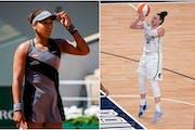 Lynx's McBride supports Osaka in mental health battle