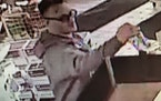 The Beltrami County Sheriff's Office believes this man is responsible for a fatal hit-and-run crash. This image shows him inside a Cenex gas station