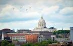The Minnesota State Capitol, St. Paul.       ] GLEN STUBBE • glen.stubbe@startribune.com   Thursday, May 20, 2021     EDS, for any appropriate use.