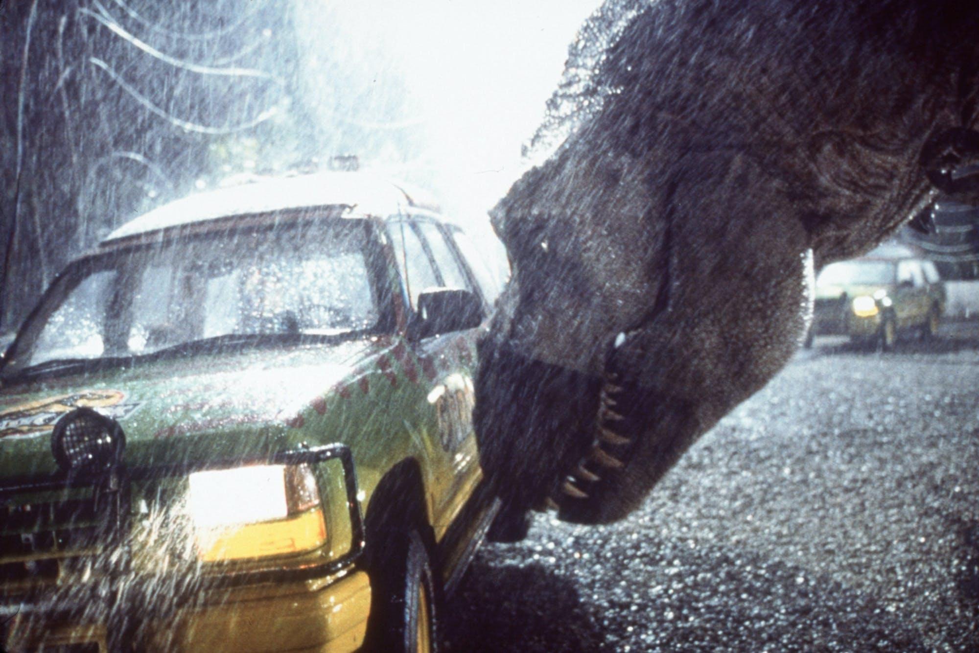 Scene from 'Jurassic Park.'