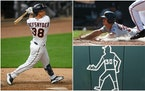 Outfielder Refsnyder: Far more than just a chalk outline for Twins