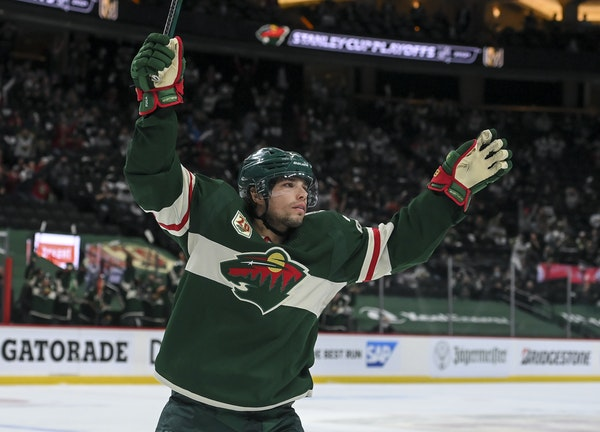 After 20-goal season for Wild, Fiala vows 'I will be better next year'