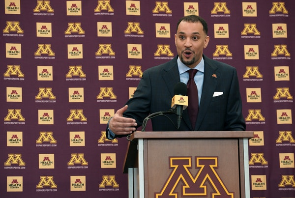 New Gophers men's basketball coach Ben Johnson is getting a crash course on roster fluidity. All but one returning player on the roster entered the