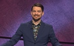 """Minneapolis teacher Sam Kavanaugh competed in the Tournament of Champions on TV's """"Jeopardy."""""""