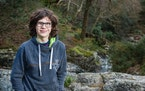 Dara McAnulty, 17, lives in County Down, Northern Ireland.  ELAINE HILL