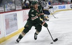 Wild captain Jared Spurgeon is a finalist for the NHL's Lady Byng Trophy.