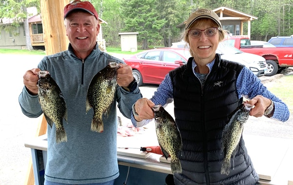 Rain has been scarce in the north. Consequently, there is little current in this big border lake. But crappie, walleye and northern pike fishing has b