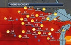 Heat Wave Continues Into The Work Week