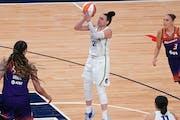 Lynx guard Kayla McBride