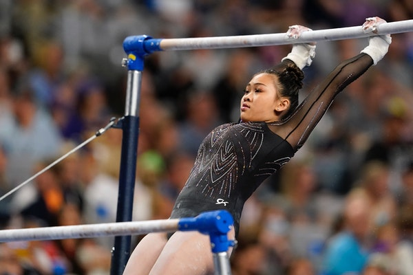 Solid silver: After Biles, St. Paul's Lee 2nd at gymnastics championships