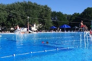 A boy died from an apparent drowning at this North Mankato public pool.  Credit: City of North Mankato
