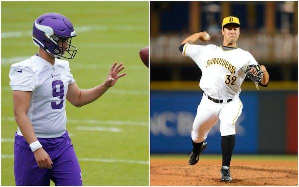 Q&A:  Making the switch, Vikings rookie Von Rosenberg on leaving baseball