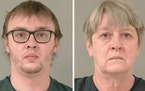 Austin Herbst and his mother, Connie Herbst  Credit: Scott County jail