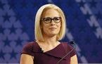 """U.S. Rep. Kyrsten Sinema, D-Ariz., told an interviewer last week that the filibuster is the key to """"comity"""" in the Senate."""