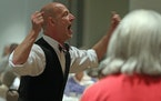 Choreographer Michael Matthew Ferrell, seen in 2012 with the Alive & Kickin ensemble, has died at 61.