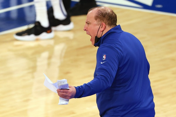 Tom Thibodeau received fewer first-place votes than Monty Williams for NBA Coach of the Year but still finished with a slightly higher point total.
