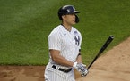 Giancarlo Stanton has had a rough time making contact of late.
