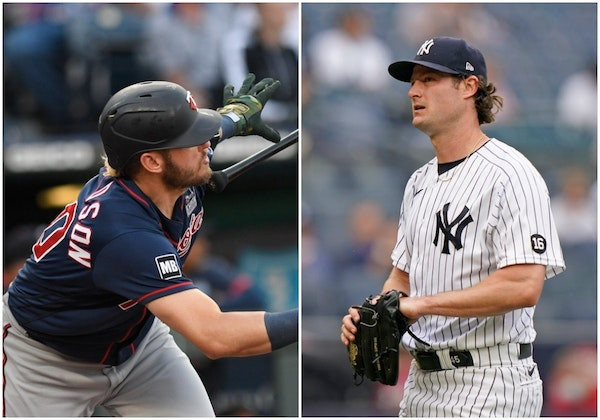 Josh Donaldson and Gerrit Cole should face each other Wednesday.
