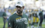 Green Bay Packers quarterback Aaron Rodgers didn't report to training camp on Tuesday.