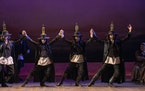 """The cast of """"Fiddler on the Roof"""" from a pre-pandemic production."""