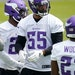 Anthony Barr (55) is entering his eighth season with the Vikings.