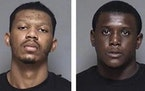 Nautica Cox, left, and Derrick Days  Credit: Olmsted County jail