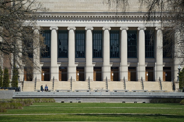 The University of Minnesota, pictured in April 2020, would receive a funding boost from legislature if this year's budget deal holds. GLEN STUBBE �