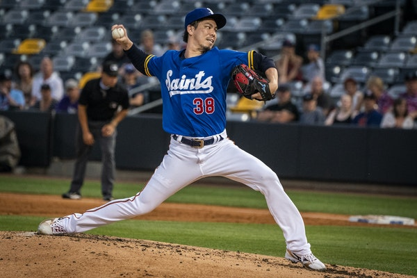 Maeda sharp in four innings but Saints lose to Omaha