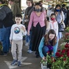 Shoppers enjoyed the fresh produce and plants available for sale during the end of May at the Minneapolis Farmers Market.