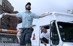 """Lin-Manuel Miranda (with Chris Jackson, right) has a small role as """"Piragua Guy"""" in """"In the Heights."""" Warner Bros."""