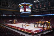 The Gophers began last season with a tipoff against Wisconsin Green Bay on Nov. 25, 2020.