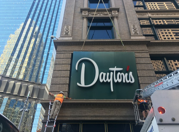 Take an exclusive tour of the newly renovated Dayton's on Nicollet Mall