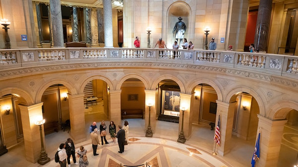 Minnesota Capitol reopens to public after 15-month lockdown