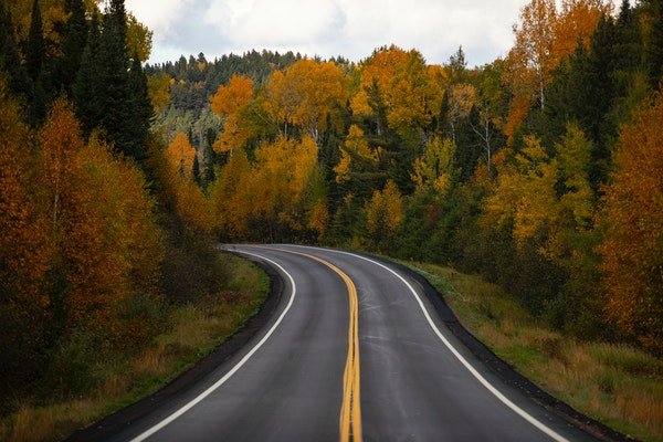 The Gunflint Trail in northern Minnesota, officially Cook County Road 12, began as a series of portages created by Native American people.