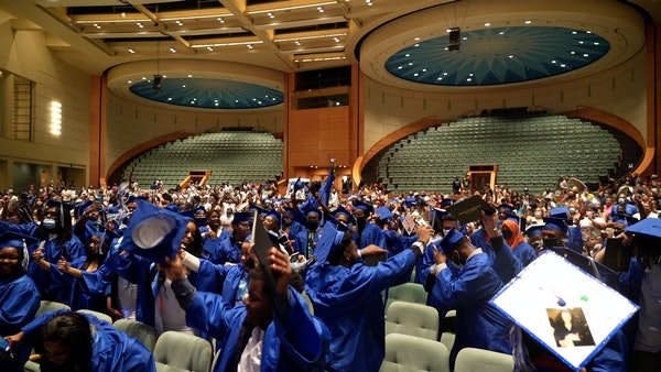 North High Polars get diplomas after challenging year
