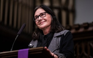 """Louise Erdrich read from her novel """"The Night Watchman"""" after it was published in 2020."""