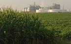 An ethanol plant in Emmetsburg, Iowa.