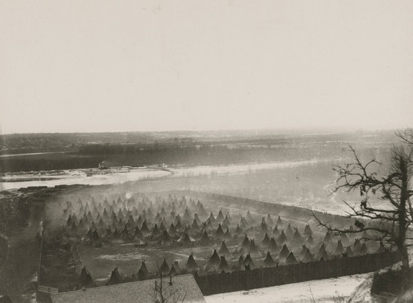 Indigenous women, children and elders were kept in a concentration camp at Fort Snelling after the U.S.-Dakota War of 1862.