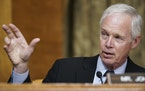 Sen. Ron Johnson, R-Wis., speaks during a Senate Budget Committee hearing on Tuesday.