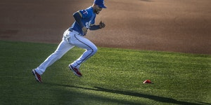 Bryon Buxton has spent this week with the Class AAA St. Paul Saints while the Twins struggle without him.