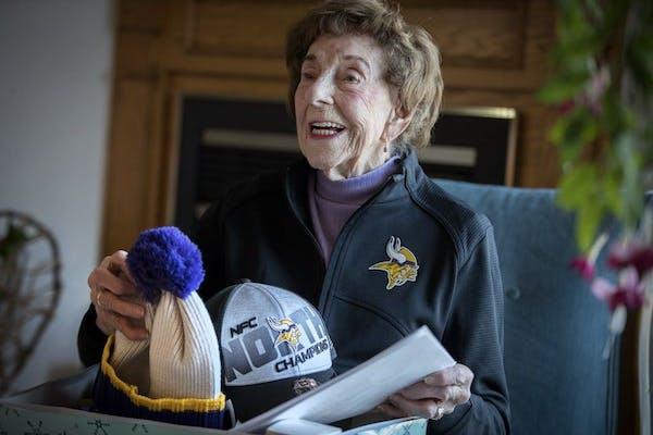 Minnesota Vikings superfan Millie Wall dies at 102