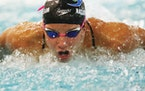 Olympic swimmer Regan Smith trained for the upcoming Olympic swim trials.