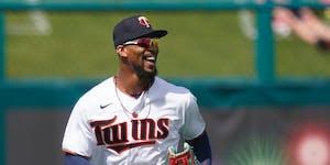 Minnesota Twins center fielder Byron Buxton.